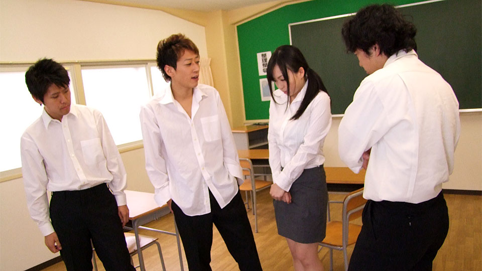 Sexy teacher is about to get fucked hard